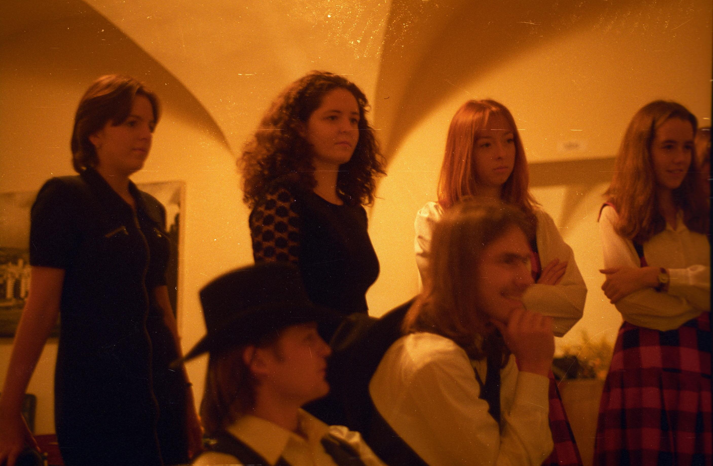 1999.01.23. - skautský ples na zámku