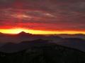 Malofatranské svítání ze Steny