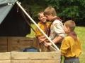Družina Šneků na táboře 2004